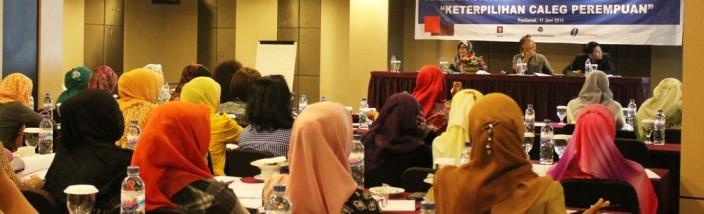 Seminar porolehan suara caleg perempuan