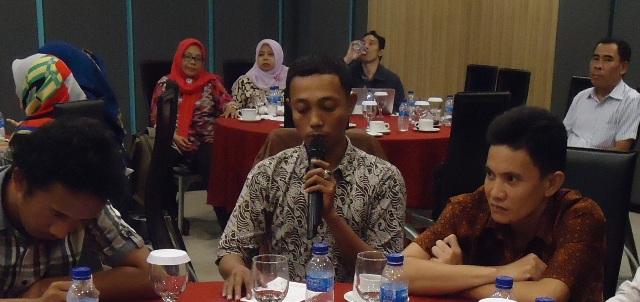 Kepala BPD Sungai Kupah Kec Sungai Kakap, KKR, Muslimatul Kadri