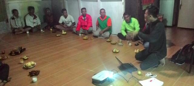 Gemawan perkuat ketahanan pangan desa Sedahan Jaya