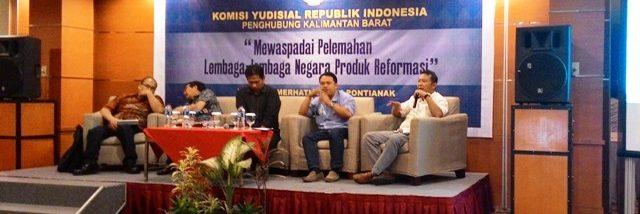 Pemerhati-hukum-lembaga-Gemawan-Hermawansyah-menduga-MK-ikut-andil-terhadap-pelemahan-KY