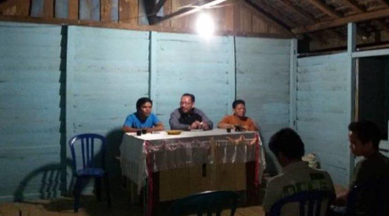 Kegiatan Gemawan untuk Program Miserior di dusun Apin Satu desa Apin Baru kecamatan Dedai, Kabupaten Sintang.
