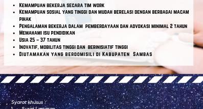 Lowongan kerja (2)
