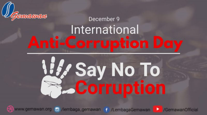 Simultaneous Local Elections: Strengthening Anti-Corruption Movement and Commitment